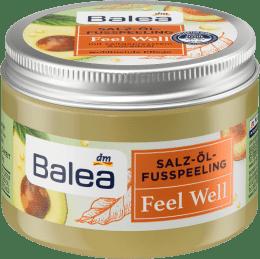 Balea sāls-eļļas kāju skrubis Feel Well ar auksti spiestu avokado eļļu, 150 ml
