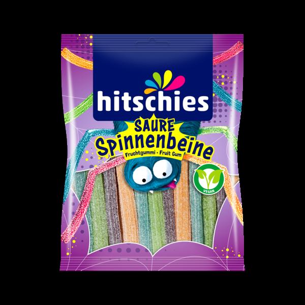 Hitschies skābās zirnekļu kājiņas, želejkonfektes, 125 g