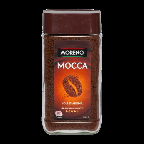 Moreno Mocca šķīstošā kafija 200 g