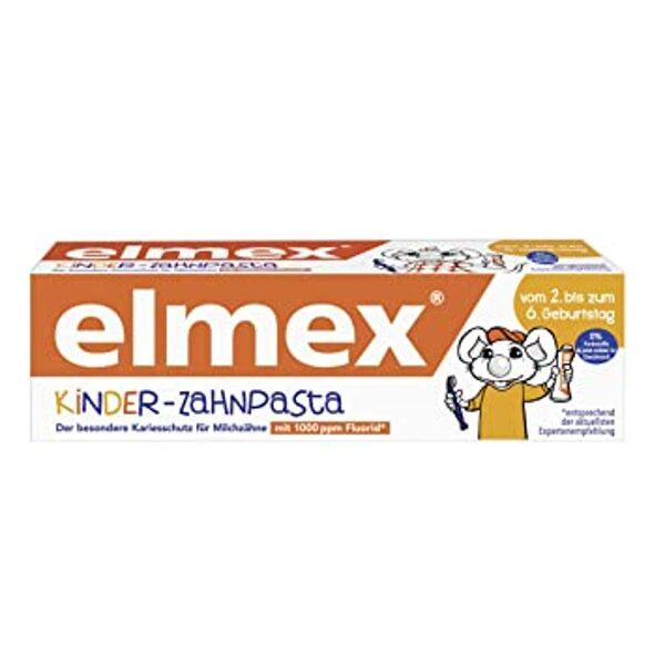 Elmex bērnu zobu pasta, piemērota bērniem no 2 līdz 6 gadu vecumam , 50 ml