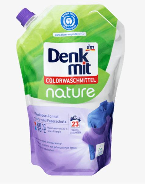 Denkmit nature mazgāšanas līdzeklis krāsainai veļai, 23 mazg.reiz.