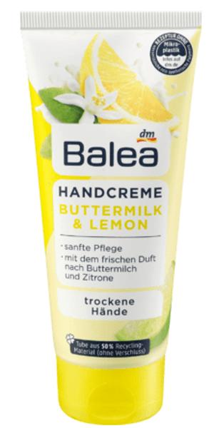 Balea roku krēms ar paniņu un citrona aromātu, 100 ml