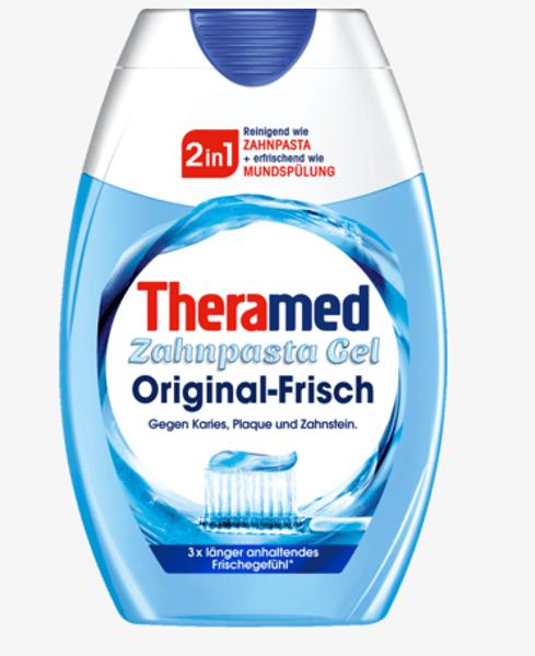Theramed 2 in 1 zobupasta želeja, 75 ml