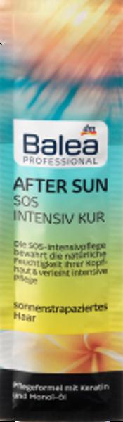 Balea Professional After SUN SOS intensīva kopjoša maska matiem, 20 ml