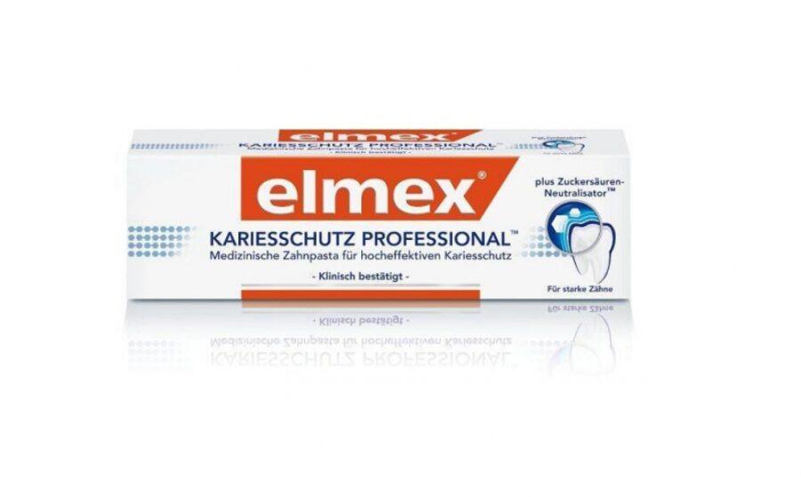 Elmex Professional zobu pasta kariesa aizsardzība, 75 ml