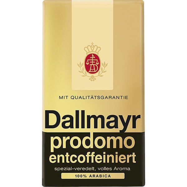Bezkofeīnu maltā kafija Dallmayr prodomo 500 g