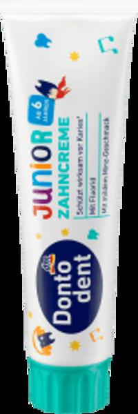 Dontodent Junior zobu pasta no 6 gadu vecuma, 100 ml